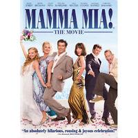 NEW Mamma Mia The Movie (DVD, 2009, Widescreen) Meryl Streep Amanda Seyfried  M