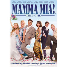 Mamma Mia (The Movie) (DVD, 2009, 2-Disc Set) Meryl Streep, Pierce Brosnan NEW!!