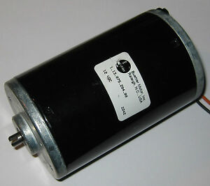 12 VDC Big Hobby Motor - 6000 RPM - High Current and High Starting Torque - 160A