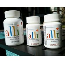Alli Orlistat Weight Loss 240 Caps NEW Factory Sealed Bottle retails over $165