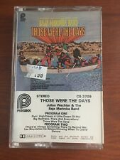 "Julius Wechter & The Baja Marimba Band Cassette Those Were The Days Tape ""Rare"""