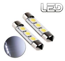 2 Ampoules navette Habitacle plafonnier C5W 37 mm 37mm  LED  éclairage Blanc