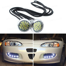High Power White 5W LED Eagle Eye Under Car body Lamp DRL Fog Light Motorcycle