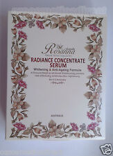New Rosanna Radiance Concentrate Serum 3 x 8ml Bottles Box