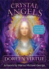 Crystal Angels - Oracle Cards : A 44-Card Deck and Guidebook by Doreen Virtue...