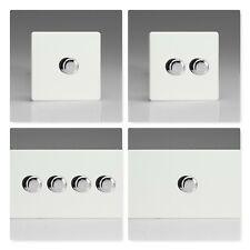 Varilight Sin Tornillos Premium De Plástico Blanco conmutadores de luz halógena & LED Dimmer