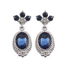 Vintage Style Sapphire Statement Earrings