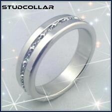 STUDCOLLAR-STAINLESS-SUPERSIZE-LACE - Super Shiny Penis Collars in Two Sizes