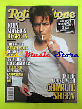 ROLLING STONE USA MAGAZINE 1159/2012 Charlie Sheen John Myer Beach Boys  No cd