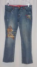 Pepe Jeans Patchwork Art Rivets Western Fashion Distressed  Boot Cut  W 31/36