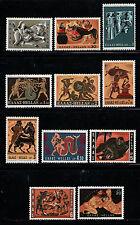 GRECIA/GREECE 1970 MNH SC.972/982 Labors of Hercules