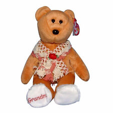 Ty Beanie Baby Grams - MWMT (Bear Grandmother Internet Exclusive 2005)