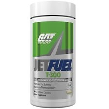 GAT JetFuel T-300  Boost Testosterone BURN FAT Build Muscle - 90 caps JET FUEL