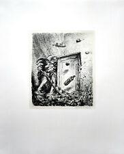 Weber: Sie haben mich nie geliebt [1977]. Signierte Original-Lithografie.