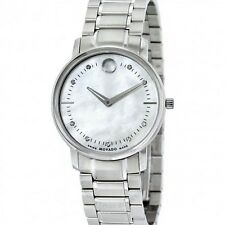 MOVADO Ladies SWISS Movement Pearl Watch 0606691 - NEW