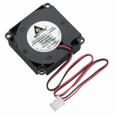 Blower Cooling Fan 2 Pin Wires 4010S 12V 40mm x10mm Black Brushless DC Cooler