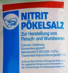5 Kg Pökelsalz Nitritpökelsalz erhöht 0,85 -< 1,0 %