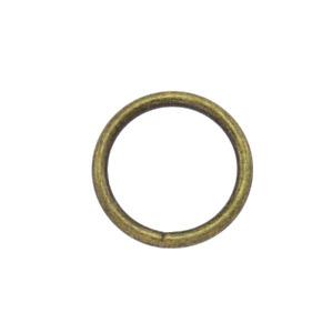 O-Ring 10 Stk. 20,25,30mm Altmessing Rundring Metall