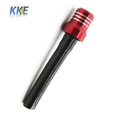 RED CNC Gas Fuel Tank Cap Valve Vent Breather Hose Black Tube CNC ATV Dirt Bike