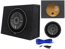 "Rockford Fosgate P3SD4-12 12"" 800W Shallow Mount Subwoofer+Car/Truck Sub Box"