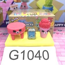 Shopkins Happy Place Home Collection - Side T. #30, Music P. #25, Rose Vase #40