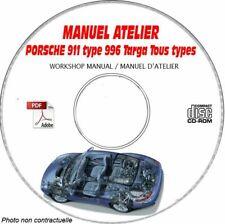 911 996 -99 Manuel atelier CDROM Porsche Anglais Revue technique Expédition - I