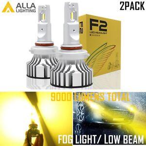 Alla Shinning Golden YELLOW  9006 Fog Light Bulb|hd-light  lo  Beam Replace Set