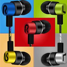 Universal 3.5mm intrauditivos Estéreos Audífonos Auriculares con micrófono