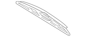 Genuine Volkswagen Wiper Blade 1C1-955-425-C