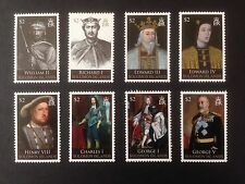 Solomon Islands 2009 Kings and Queens Set SG 1254-1261 MNH