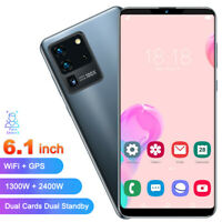 Face Unlocked Smartphone Mobile Phone Quad Core 6.1in Dual SIM for Android 10.0