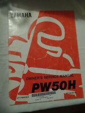 NOS YAMAHA SERVICE MANUAL PW50H PW50 H PW 50 LIT-11626-09-89