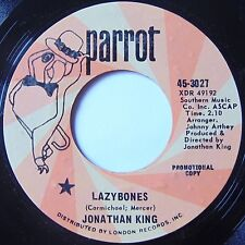 JONATHAN KING: LAZYBONES rare PARROT dj psych 45 hear it