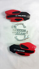 2015 Polaris Axys 800 Switchback Pro-X RED HAND GUARDS W/ MOUNTS