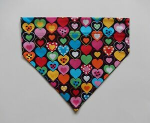 VALENTINE'S  DAY MISC LARGE OVER THE COLLAR DOG SCARF/BANDANA