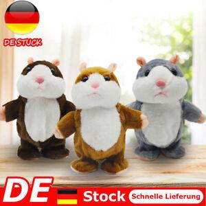 Labertier Sprechende Hamster Kuscheltier Plüschtier Spielzeug Talking Toy 15 cm