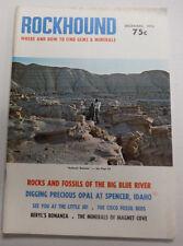 Rockhound Magazine Rocks And Fossils Of The Big Blue River December 1973 070615R