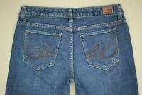 Express X2 Low Rise Slim W10 Boot Cut Jeans Women's Size 6 Medium Wash Denim