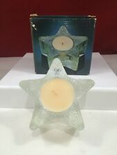 Vtg 1980 Avon Starbright-Floral Medley-White-Candle-New In Box-Free Shipping