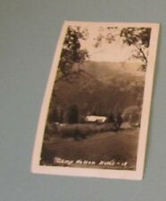 1943 Camp Nelson Hotel California RPPC Real Photo Postcard City Postmark Vintage