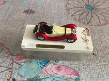 Ancienne Voiture Miniature Jaguar ss100 1938 Solido 1/43