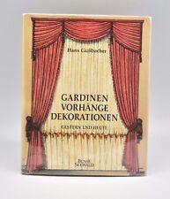 Gardinen Vorhange Dekorationen Hans Güssbacher Curtains Decorations Book