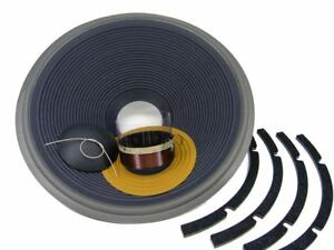 "Recone Kit for JBL 4345, 2245H 8 Ohm 18"" Subwoofer SS Audio Speaker Repair Parts"