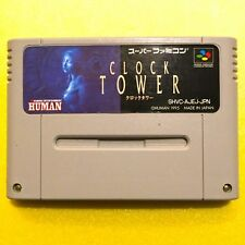 Nintendo Super Famicom SNES Used Cartridge Japan Clock Tower