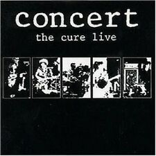 THE CURE - CONCERT-THE CURE LIVE  CD 10 TRACKS GOTHIC/ROCK/POP/NEW WAVE NEW+