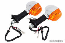 Pair of indicators turn signal winkers Yamaha YR2 FJ600 FZ1 FZ-S FZ150i SRV250