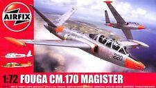 Airfix 1:72 Fouga CM.170 Magister Plastic Aircraft Model Kit #A03050
