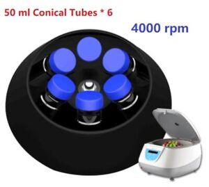 PRP Centrifuge Medical Blood Plasma Serological Centrifuge 4000 rpm 6*50ml Tubes