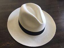 GENUINE PANAMA HAT. Hand woven in Ecuador with 100% original Toquilla Straw.