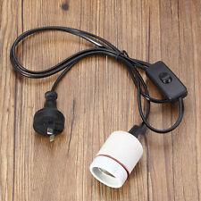 300W Reptile Vivarium Ceramic Heating Lighting Bulb Lamp Heater Holder Switch